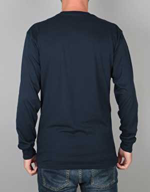 Vans OTW L/S T-Shirt - Navy/Mineral Yellow