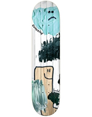Krooked Gonz Ribbed Pro Deck - 8.38