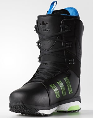 Adidas Tactical ADV 2017 Snowboard Boots - Black/White/Solar Green