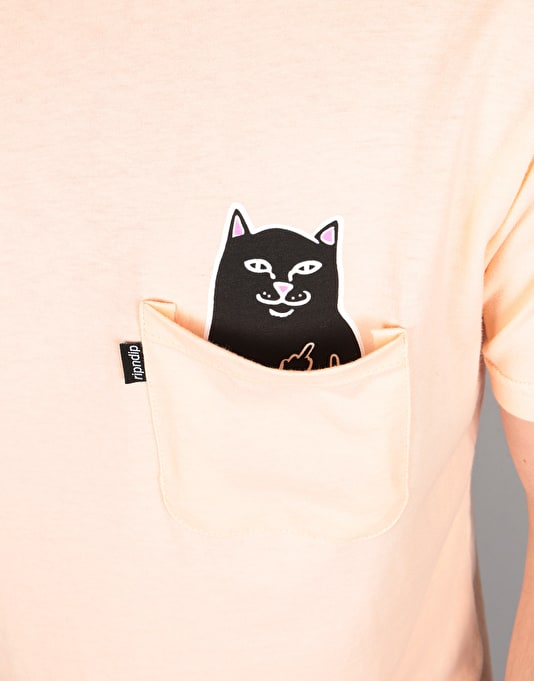 RIPNDIP Lord Jermal Pocket T-Shirt - Salmon