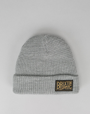 Brixton Coventry Beanie - Light Heather Grey