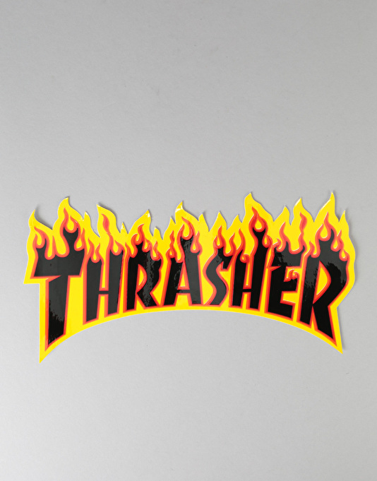 Thrasher Flame Logo Super Sticker