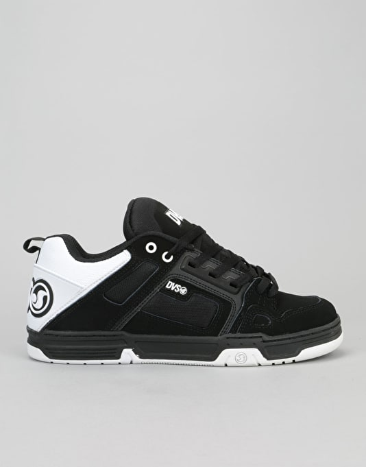 e996ac92585461 DVS Comanche Skate Shoes - Black White Black