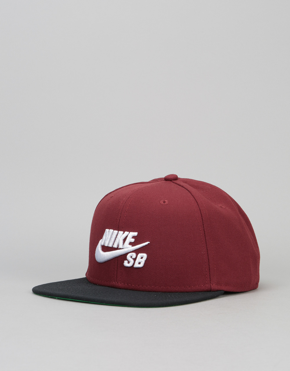 39db318394c Nike SB Icon Snapback Cap - Dark Team Red Black Pine Green White ...