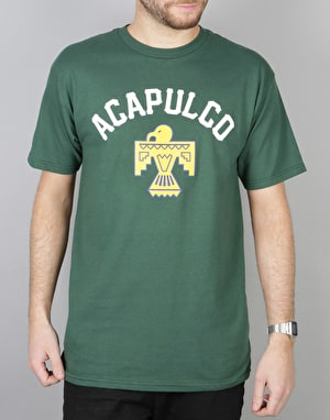 Acapulco Gold Thunderbird S/S T-Shirt - Dark Green