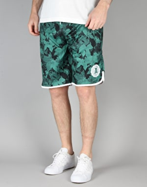 Adidas Poison Ivy League Shorts - Blanch Green/Black