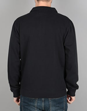 Diamond Supply Co.Burnout Quarter Zip Crew - Navy