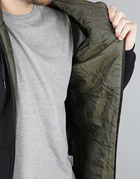 Element Topher Zip Hoodie - Flint Black