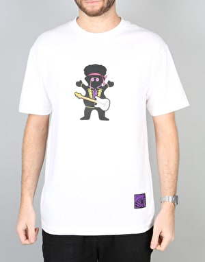 Grizzly x Jimi Hendrix Jimi Bear T-Shirt - White
