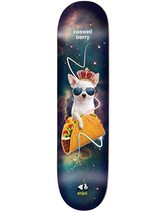 Enjoi Berry Snack Surfers V2 Impact Light Pro Deck - 8""