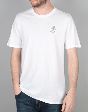 Nike SB Roses T-Shirt - White/Black