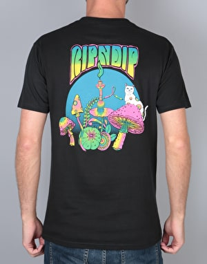 RIPNDIP Psychadelic Nermal Pocket T-Shirt - Black