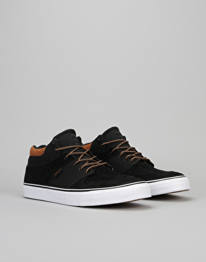 State Mercer Skate Shoes - Black/Tan Canvas