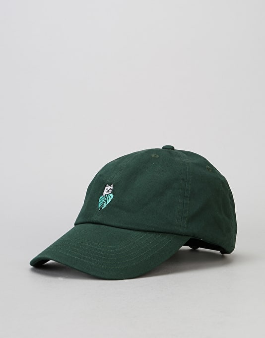 RIPNDIP Nermal Leaf Dad Cap - Forest Green