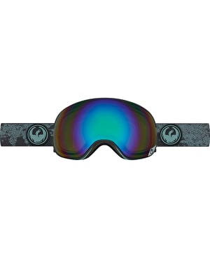 Dragon X2 2017 Snowboard Goggles - Mason Grey/Flash Green Polarized