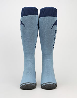 Burton Emblem 2017 Snowboard Socks - Washed Blue