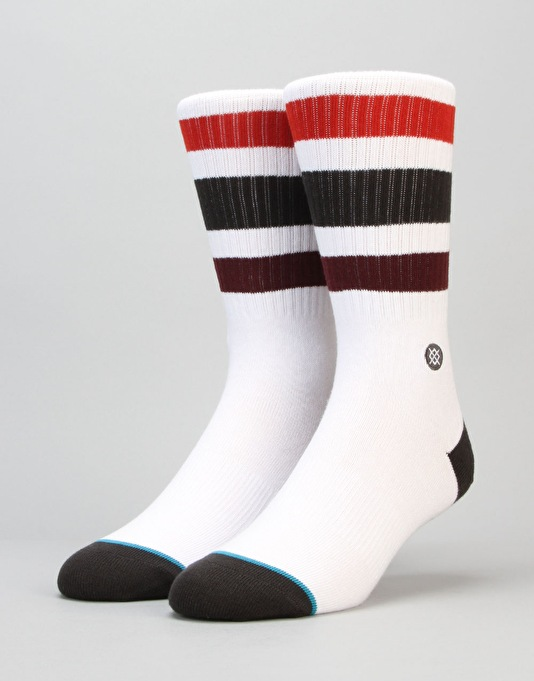 Stance Boyd 3 Classic Light Socks - Burgundy