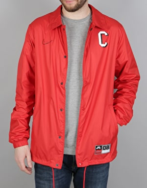 Nike SB BA Shield Coaches Jacket - University Red/Black