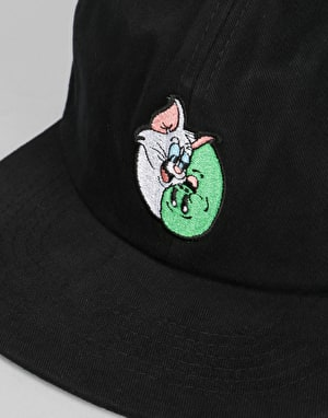 RIPNDIP Nermal Yang 6 Panel Cap - Black