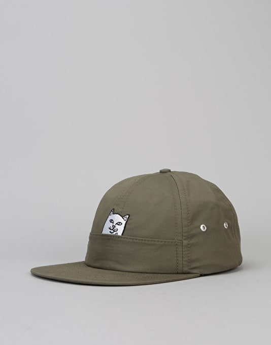 RIPNDIP Nermal Pocket 6 Panel Cap - Jalapeno