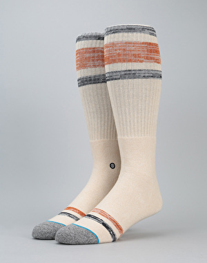 Stance Device Classic Crew Socks - Off White