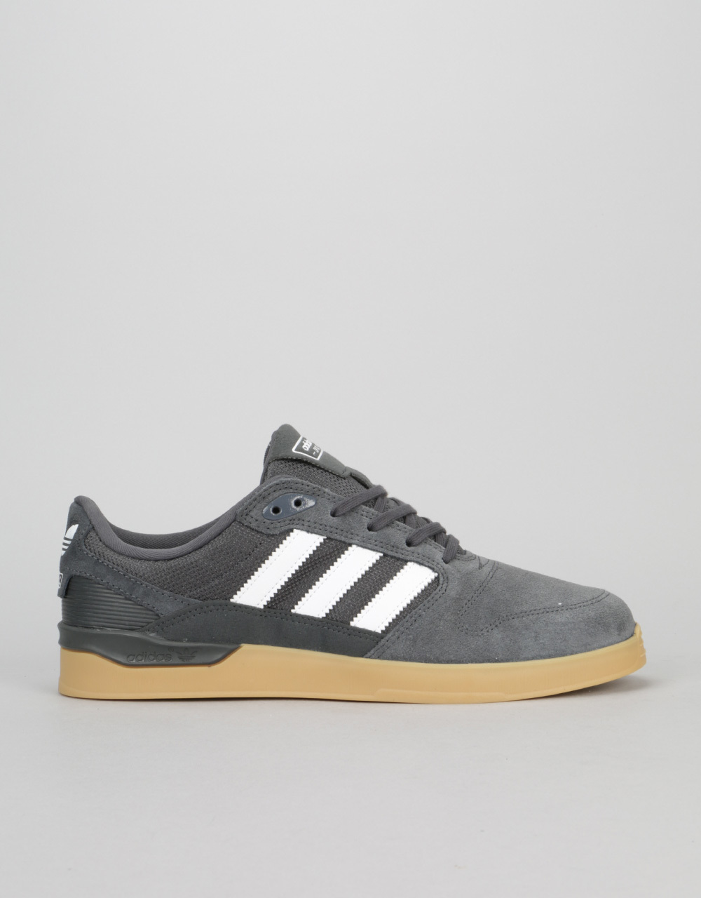 fdd49b71937 Adidas ZX Vulc Skate Shoes - Solid Grey White Gum