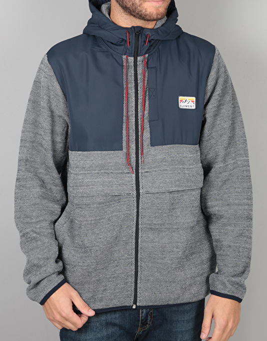 Element Herard Zip Hoodie - Eclipse Navy Heather
