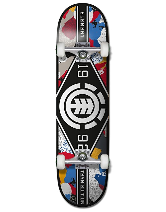 Element Cut Out Major League Complete Skateboard - 8""