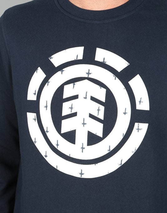 Element Ikat Icon Crew Sweatshirt - Eclipse Navy