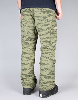 Sessions Shiner 2017 Snowboard Pants - Olive Camo