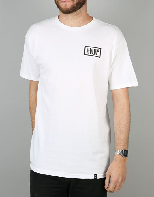 HUF x Skate NYC Burst T-Shirt - White