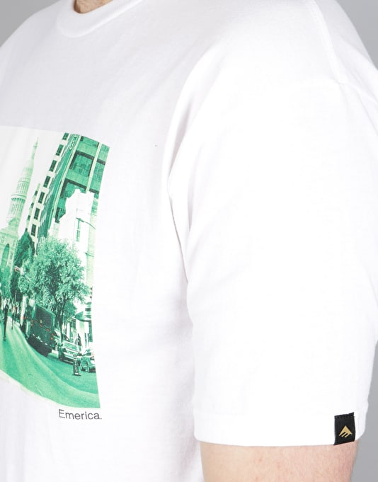 Emerica Wild In The Streets Austin T-Shirt - White