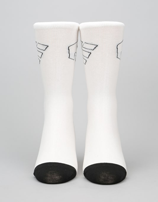 Etnies Legacy Socks 3 Pack - White