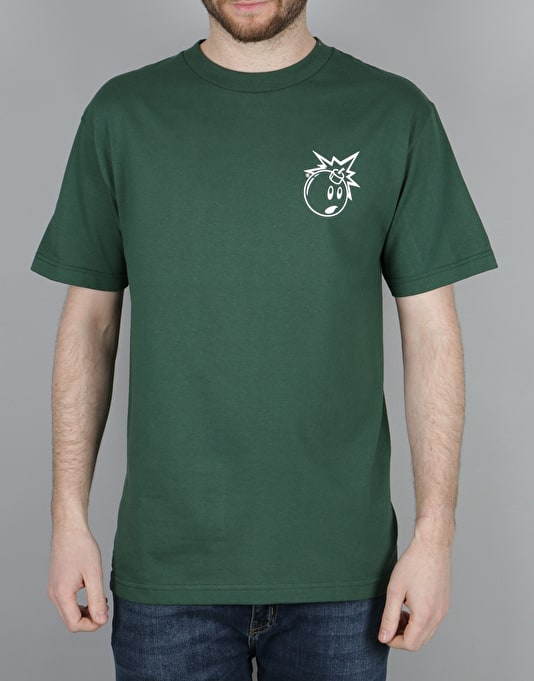 The Hundreds Forever Simple Adam T-Shirt - Forest Green