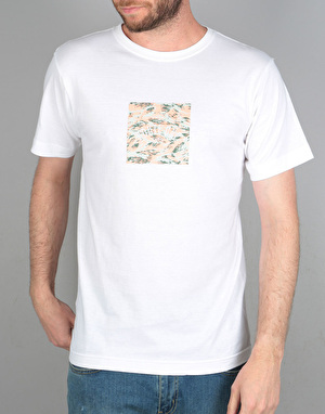 Route One Camo Box Logo T-Shirt - White