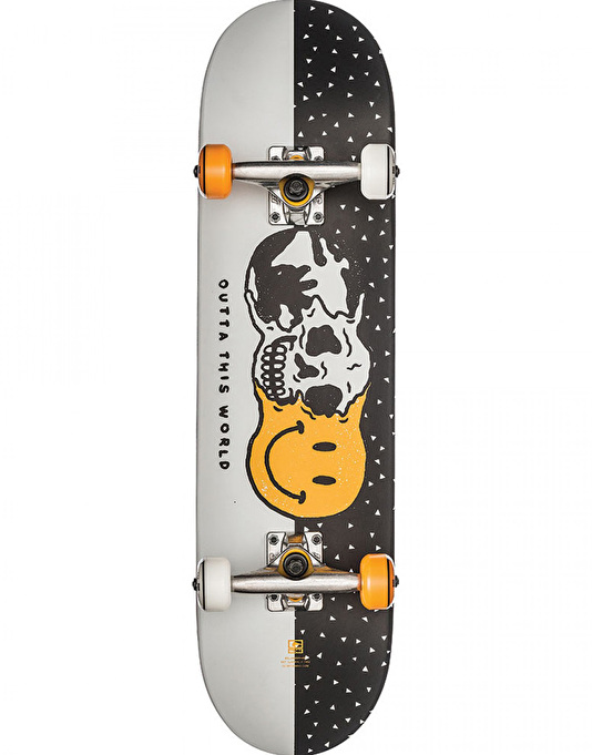 Globe Outta This World Mid Complete Skateboard - 7.6""