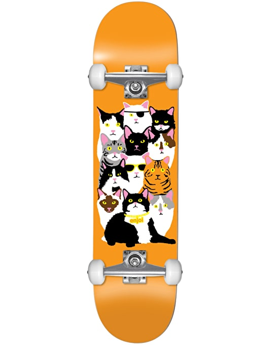 Enjoi Cat Collage V2 Complete Skateboard - 7.625""