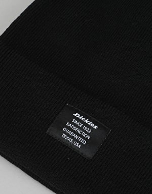 Dickies Edgeworth Bobble Beanie - Black