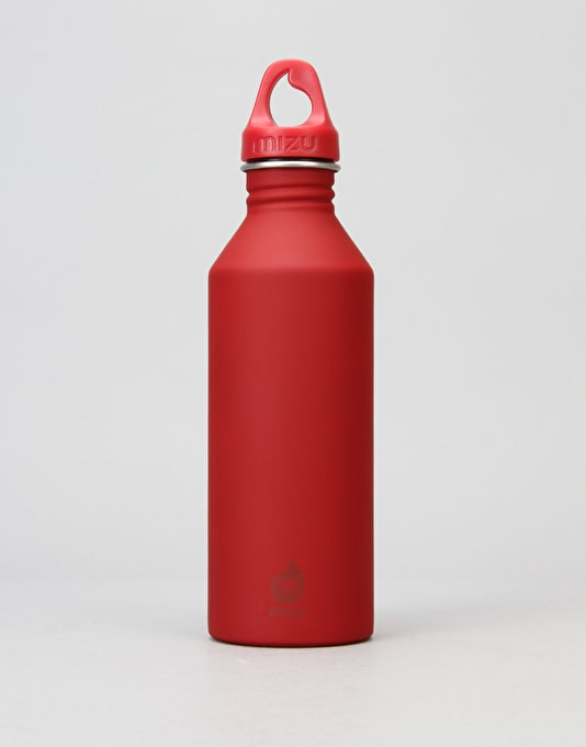 MIZU M8 ST 800ml/27oz Water Bottle - Red/Red
