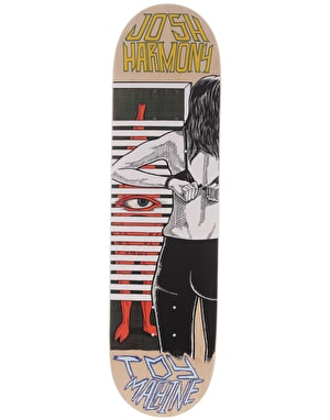 Toy Machine Harmony Peeping Toy Pro Deck - 8.375