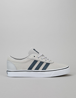Adidas Adi-Ease Skate Shoes - Solid Grey/Collegiate Navy/White