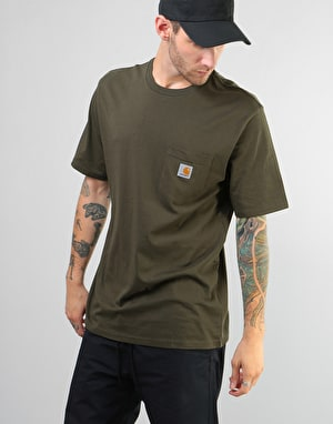 Carhartt S/S Pocket T Shirt - Cypress