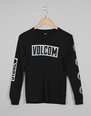Volcom Knock Boys T-Shirt - Black