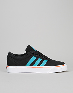 Adidas Adi-Ease Skate Shoes - Core Black/Energy Blue/Energy
