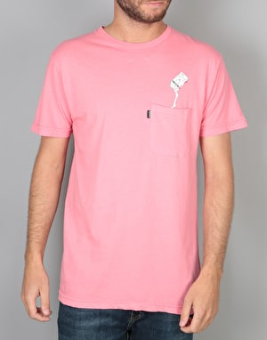 RIPNDIP Milk Carton Pocket T-Shirt - Blush