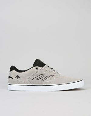 Emerica The Reynolds Low Vulc Skate Shoes - Grey/Black