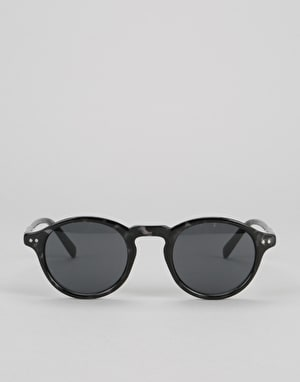 Route One Oval Sunglasses- Black Tortoise
