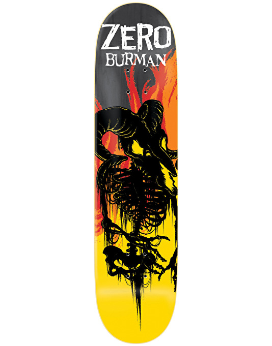 Zero Burman From Hell Impact Light Pro Deck - 8.25""