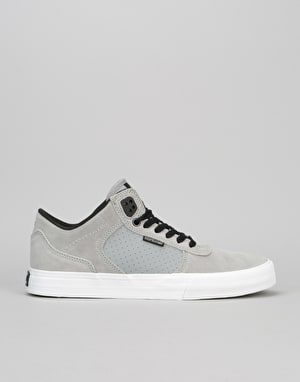 Supra Ellington Vulc Skate Shoes - Grey/Black/White