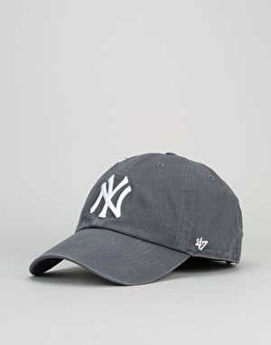 '47 Brand MLB New York Yankees Relaxed Clean Up Cap - Vintage Navy